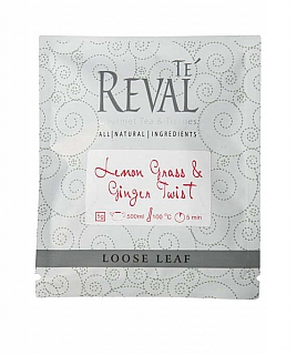 Te Reval Lemongrass & Ginger Twist 5g