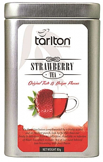 TARLTON Black Strawberry Fruit plech 80g