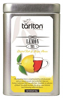 TARLTON Black Lemon Fruit plech 80g