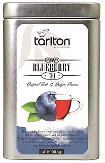 TARLTON Black Bluebery Fruit plech 80g