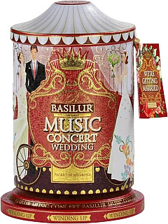 BASILUR Music Concert Wedding plech 100g