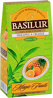 BASILUR Magic Green Pineapple & Orange papír 100g