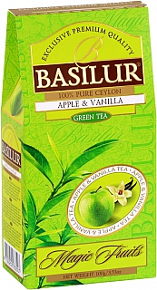 BASILUR- Magic Green Apple & Vanilla papír 100g