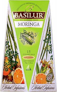 BASILUR Herbal Infusions Moringa 15x2g
