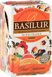 BASILUR Fruit Blood Orange přebal 20x1,8g