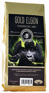 Mountain Gorilla Gold Elgon mletá 100g