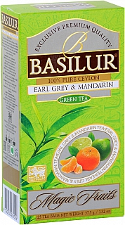 BASILUR Magic Earl Grey & Mandarin nepřebal 25x1,5g