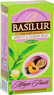 BASILUR Magic Apricot & Passion Fruit nepřebal 25x1,5g