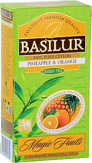 BASILUR 2/20 Magic Pineapple & Orange nepřebal 25x1,5g