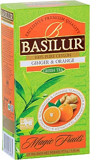 BASILUR 2/20 Magic Ginger & Orange nepřebal 25x1,5g