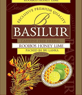 BASILUR Horeca Rooibos Honey Lime 1 sáček