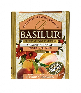 BASILUR Horeca Fruit Orange Peach 1 sáček