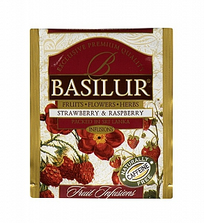 BASILUR Horeca Fruit Strawberry & Raspberry 1 sáček