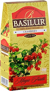 BASILUR Magic Fruits Black Cranberry papír 100g