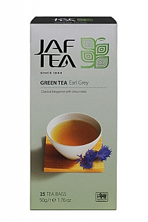 JAFTEA Green Earl Grey nepřebal 25x2g