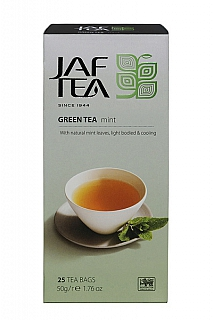 JAFTEA Green Mint nepřebal 25x2g