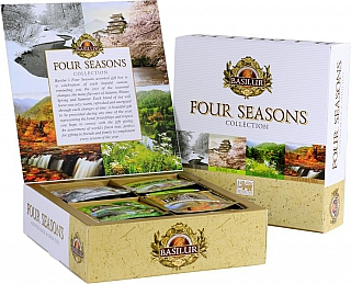 BASILUR Four Seasons Assorted přebal 40 gastro sáčků