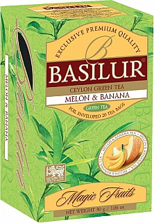BASILUR Magic Melon & Banana přebal 20x1,5g
