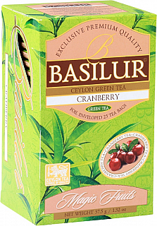 BASILUR Magic Cranberry přebal 20x1,5g