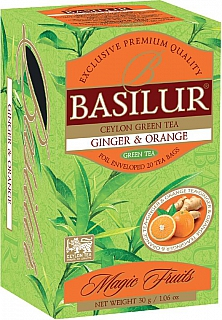 BASILUR 10/20 Magic Ginger & Orange přebal 20x1,5g