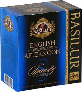 BASILUR Specialty English Afternoon přebal 50x2g