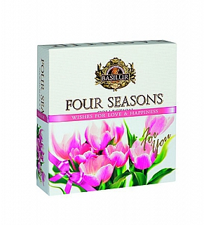 BASILUR Four Seasons For You Pink Assorted přebal 40E