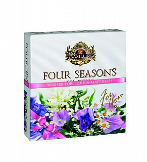 BASILUR Four Seasons For You Purple Assorted přebal 40E