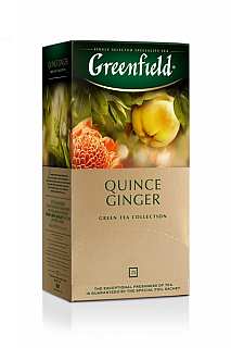GF Green Quince Ginger přebal 25x2g
