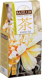 BASILUR Chinese White Tea papír 100g
