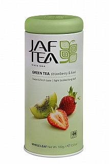 JAFTEA Pure Green Strawberry & Kiwi 100g plech