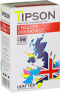 TIPSON English Breakfast papír 85g