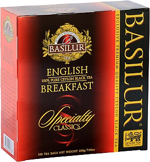 BASILUR Specialty English Breakfest nepřebal 100x2g