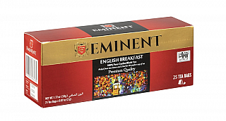 EMINENT/ Premium Quality English Breakfast nepřebal 25x2g