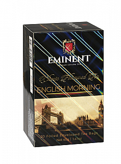 EMINENT Classic English Morning porcovaný 20x2g