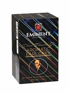 EMINENT Classic Aromatic Earl Grey porcovaný 20x2g