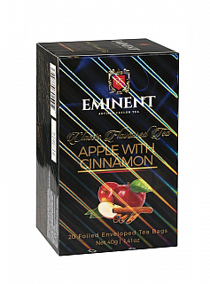 EMINENT Classic Apple with Cinnamon porcovaný 20x2g
