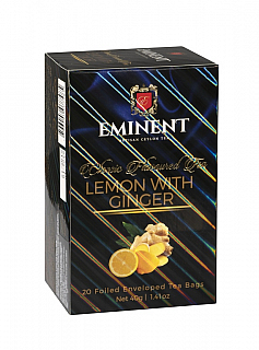 EMINENT Classic Lemon with Ginger porcovaný 20x2g