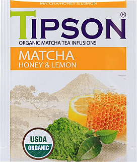 TIPSON Horeca BIO Matcha Honey & Lemon 1 sáček
