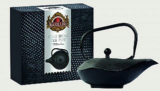 BASILUR Cast Iron Tea Pot Black Colour 1,0l