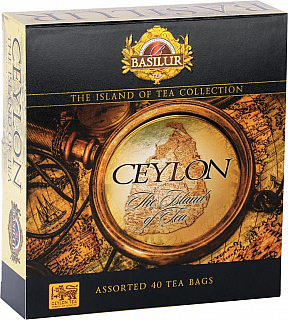 BASILUR The Island of Tea Assorted přebal 40 gastro sáčků