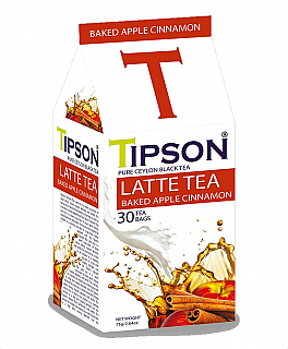 TIPSON Latte Tea Baked Apple Cinnamon 30x2,5g