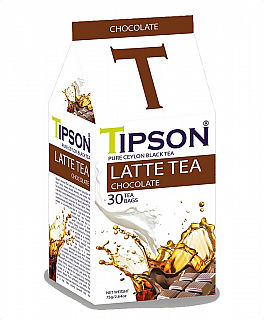 TIPSON Latte Tea Chocolate 30x2,5g