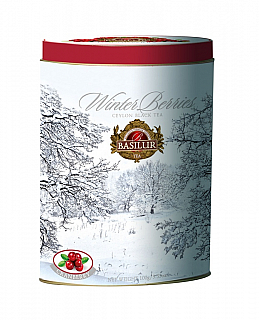 BASILUR Winter Berries Cranberries plech 100g