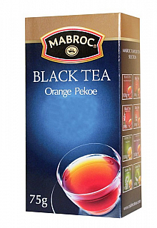 MABROC/ Black Orange Pekoe papír 75g