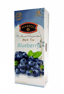 MABROC Classic Black Blueberry nepřebal 25x2g