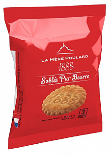 La Mére Poulard Sables French Butter 3 biscuits 23,4g