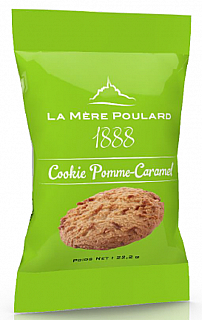 La Mére Poulard Sables Apple caramel Cookie 1 biscuit 22,2g