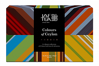 JAFTEA Box Colours of Ceylon Collection 6x30g