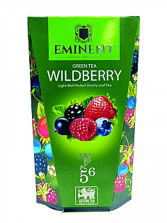 EMINENT Green Tea Wildberry papír 100g