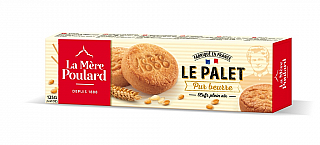 La Mére Poulard Tradition Pure Butter French Shortbread papír 125g